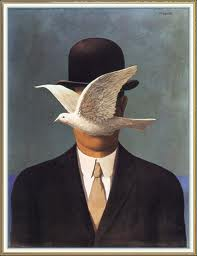 "René Magritte: ""Man in the Bowler Hat"" (1964)"