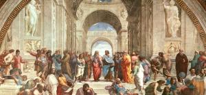 """Raffaello Sanzio's """"School of Athens"""" (1509)"""